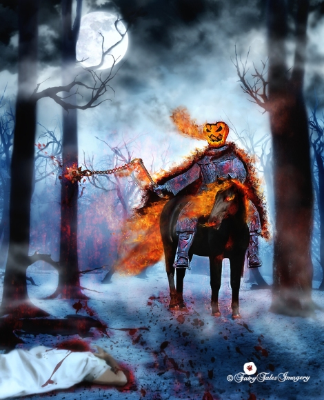 headless horseman Halloween WEB
